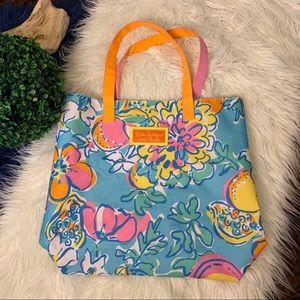{Lily Pulitzer} for Estée Lauder Bright Tote Bag